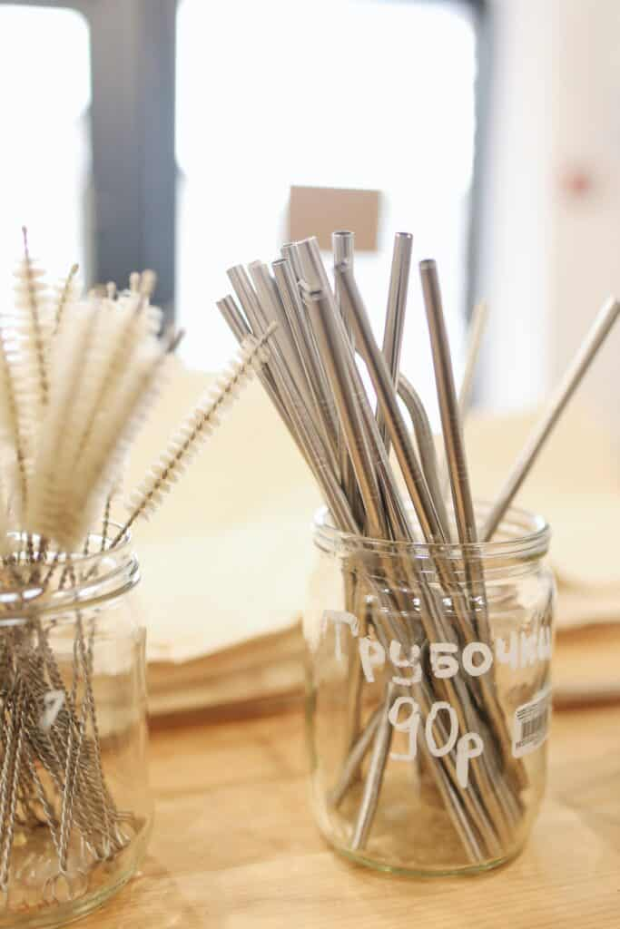 Brushes for sale to clean straws