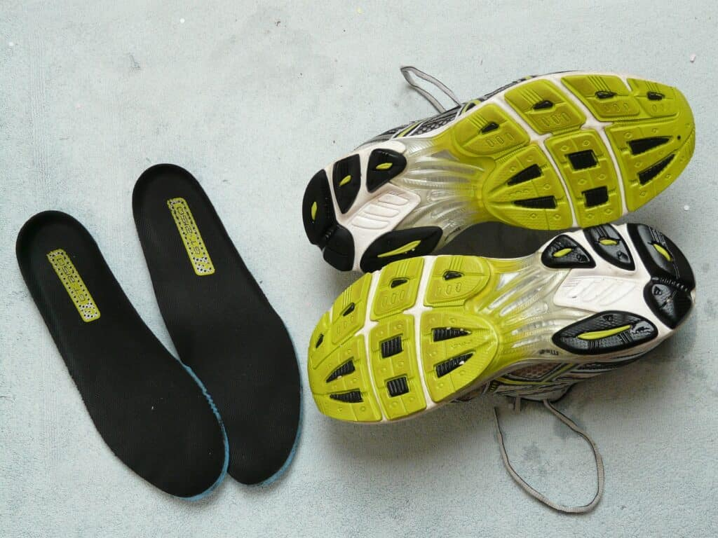 Clean insoles