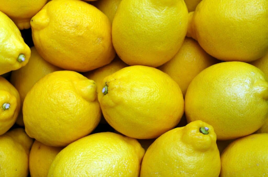 Dozens of lemons
