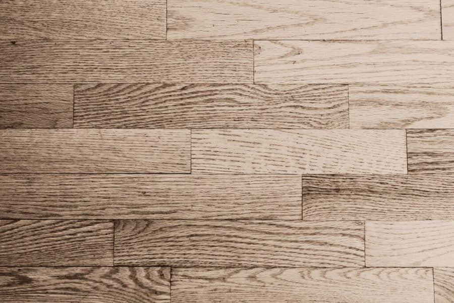 Clean unfinished wood floors