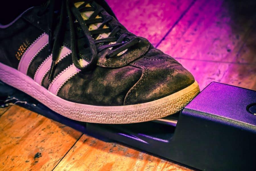 Suede Adidas shoe